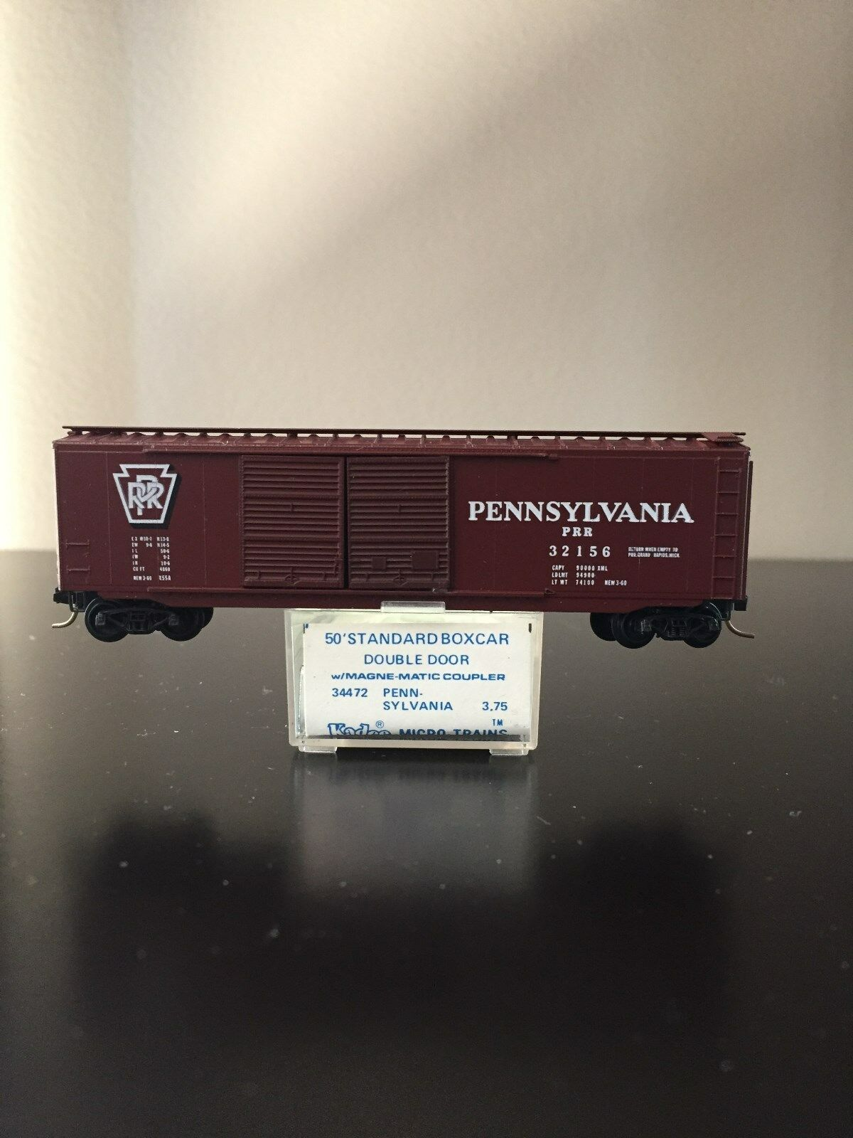 Kadee Micro Trains MTL 34472 (34080) Pennsylvania PRR 32156 Clip On Trucks