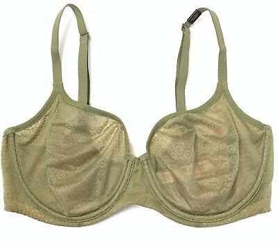 NWT Victorias Secret Body By Victoria Unlined Bra Mesh Sheer Iron 34C 34DD 34DDD