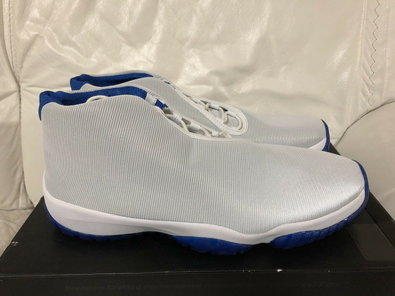 018b9a5f6a7 Nike Air Jordan Future Sport bluee White Black Men's 12 New Size  nxrvkz798-Athletic Shoes