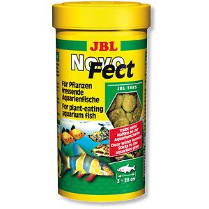 JBL-NovoFect-100ml-Novo-Fect-Vegetarian-Tabs-Fish-Food-Tablets-Original-Tub