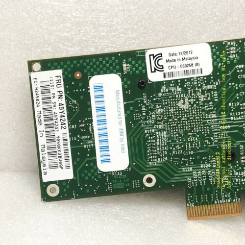 Intel I340-T4 E1G44HT E1G44HTBLK NIC Gigabit PCI-E Ethernet Server Adapter