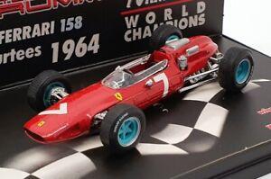 Brumm-1-43-escala-S052-F1-Ferrari-158-1st-Aleman-GP-1964-7-Surtees