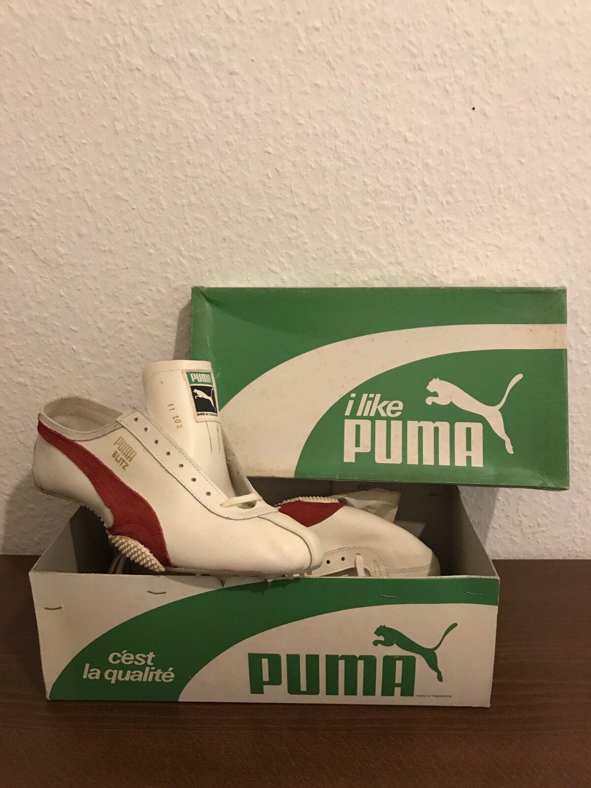 Vintage - puma puma puma blitz laufschuhe 90 11 46 deadstock selten 70er spikes e50978