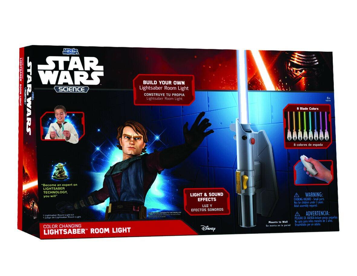 Estrella Wars Ciencia Deluxe 8 Color Sable De Luz Luz Ambiente