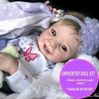 REBORN BABY DOLL KIT ~ Samantha by Donna Rubert ~  unpainted vinyl doll kit