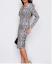India-Midi-Dress-Long-Sleeve-Ruched-Midi-Dress-Animal-Print-8-16 thumbnail 9