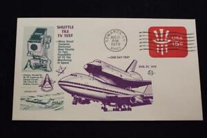 Space-Shuttle-Cover-1971-Macchina-Annullo-Postale-Piastrelle-TV-Prova-5590
