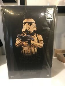 Hot Toys Star Wars Stormtrooper Version Or Chrome Sideshow Exclusive 1/6 Fig 4897011182070