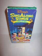 Disney Sing Along Very Merry Christmas Songs VHS Video Tape Movie Volume 8