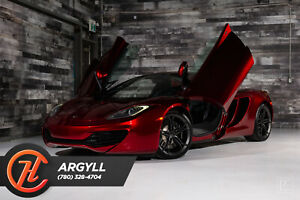 2014 McLaren MP4-12C VOLCANO RED ( OPTION COLOR ), FINANCE OR LEASE!