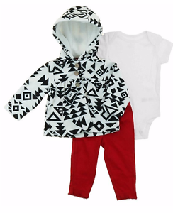 f1846dc1d Carter's Baby Girl's 3 Piece Matching Winter Outfit Set- Jacket ...