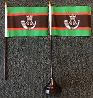 The Rifles Desk Top Flag British Army War Military Infantry Regiment Rifleman bn