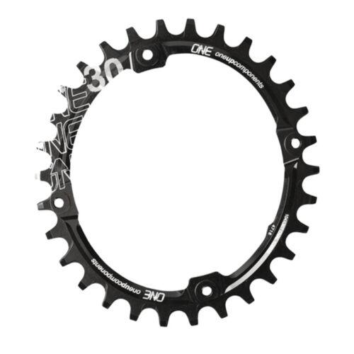 OneUp composants 104 ovale Chainring 104BCD 30 T Noir