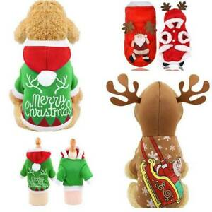 Christmas-Puppy-Outfit-Pet-Xmas-Reindeer-Dog-Costume-Cat-Hoodie-Clothes-Coat