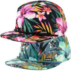 916105cb6 Details about Hurley Unisex Garden Dri-FIT Snapback Hat Cap