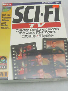 New - Sci-Fi TV Outtakes Bloopers (Mac Windows PC, 1994) Sealed