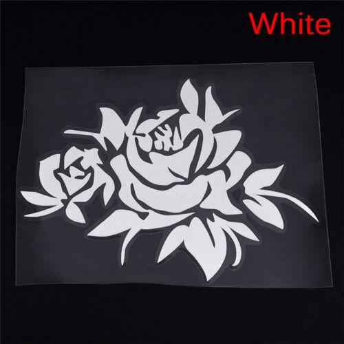 Fashion Rose Flower Vine Car Bonnet Body Window Sticker Car Auto Decal Vogue New