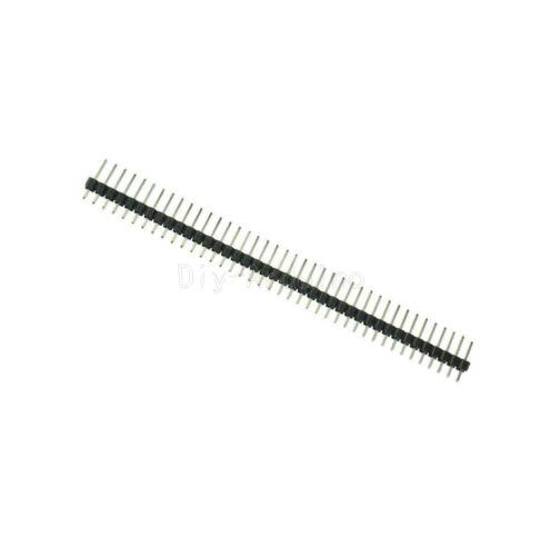 10//20//50//100 Stks 2.54mm Pitch 40Pin 1x40P PCB Single Row Pin Header Strip