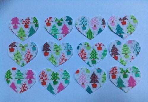 Noël Tissu Jolly arbres