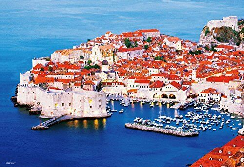 BEVERLY JIGSAW PUZZLE M81-870 PEARL OF THE ADRIATIC DUBROVNIK (1000 S-PIECES)