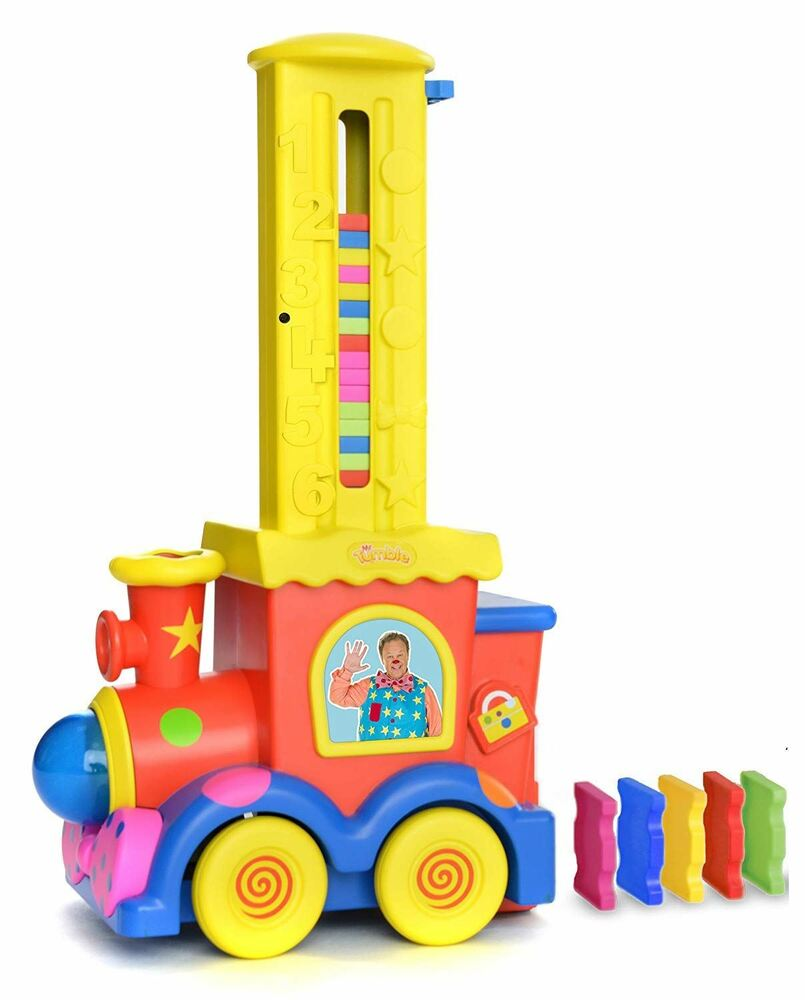 Mr Tumble 'domino Train