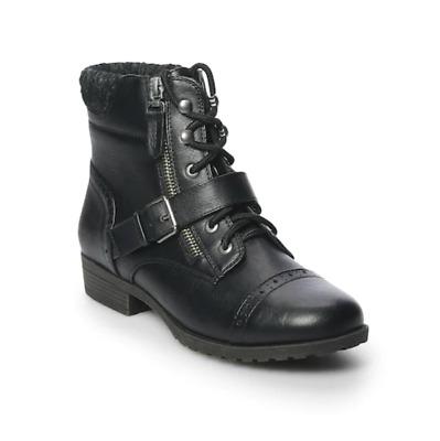 Womens SO 427K-J 202188 Hackberry Cognac Ankle Boots
