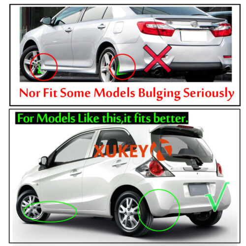 Universal 4Pcs Mudflaps For Honda Brio City Fit Jazz HR-V Mud Flap Splash Guards