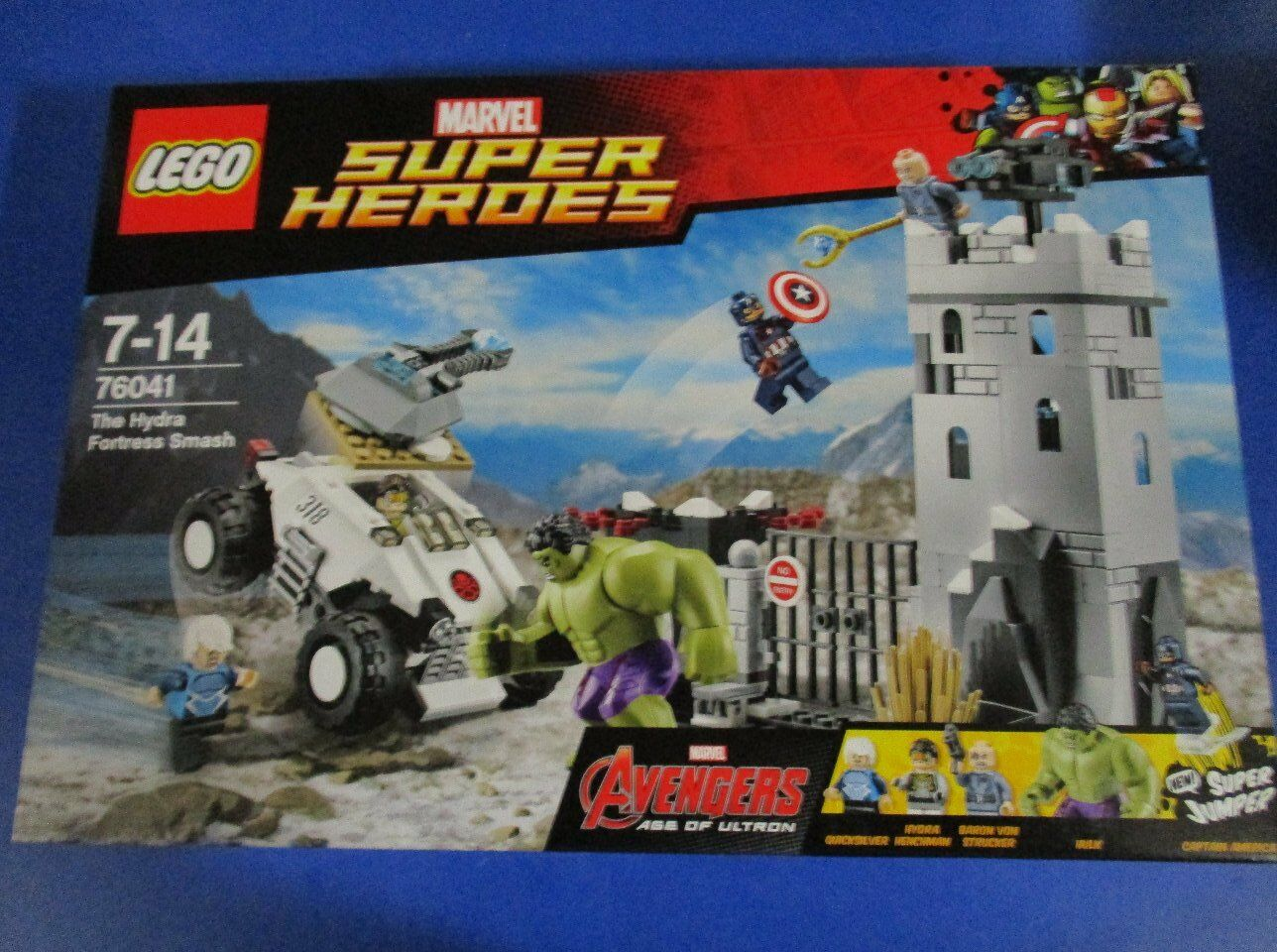 Lego Super Heroes Avengers 76041, número 6, nuevo embalaje original
