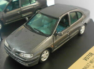 Vitesse-1-43-Escala-Modelo-de-Metal-V075B-Renault-Megane-GRIS-XERUS
