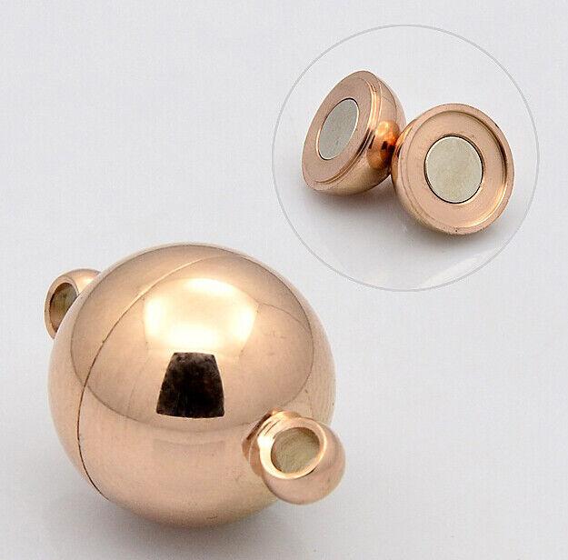 Modelle gold rose platin 8-14mm Magnetverschluss teils mit Strass versch