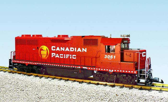 USA Trains GP38-2 Escala G Locomotora Diesel R22235 Canadian Pacific