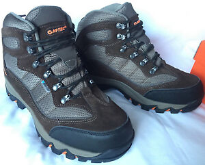 Hi-Tec-Radford-WP-M-005632-Brown-Dri-Tec-Trail-Winter-Hiking-Boots-Men-039-s-10-new