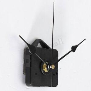 Quarzuhrwerk-Quarzwerk-Uhrwerk-Schwarz-mit-3-Zeiger-ABS-Wanduhr-Uhr-Reparatur