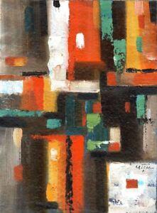 Russischer-Realist-Expressionist-Ol-Leinwand-034-Kannen-034-39x29-cm