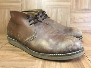 Rare🔥 Red Wing Classic Chukka 595 Union Work Boots Sz 12
