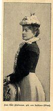 Rose Friedmann * Berühmte deutschsprachige Bergsteigerin  Bilddokument 1901