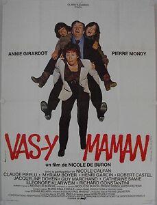 Affiche-Cinema-VAS-Y-MAMAN-1978-DE-BURON-Girardot-Mondy-120x160