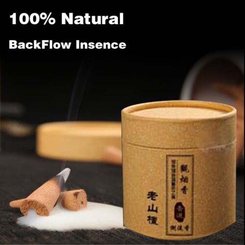 35pcs Bullet  Sandalwood Backflow Incense Cones Incense Hollow Buddhism Buddhist