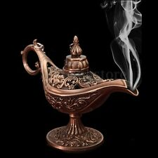 Rare Legend Brass Bronze Aladdin Magic Genie Light Wishing Lamp Pot Collection