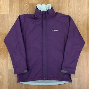 BERGHAUS-Womens-Waterproof-AQ2-Jacket-Hooded-Rain-Coat-UK-12-Purple