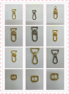 New Belt Strap Handbag Buckle Hardware Luxury Accessories Leathercraft GOLD