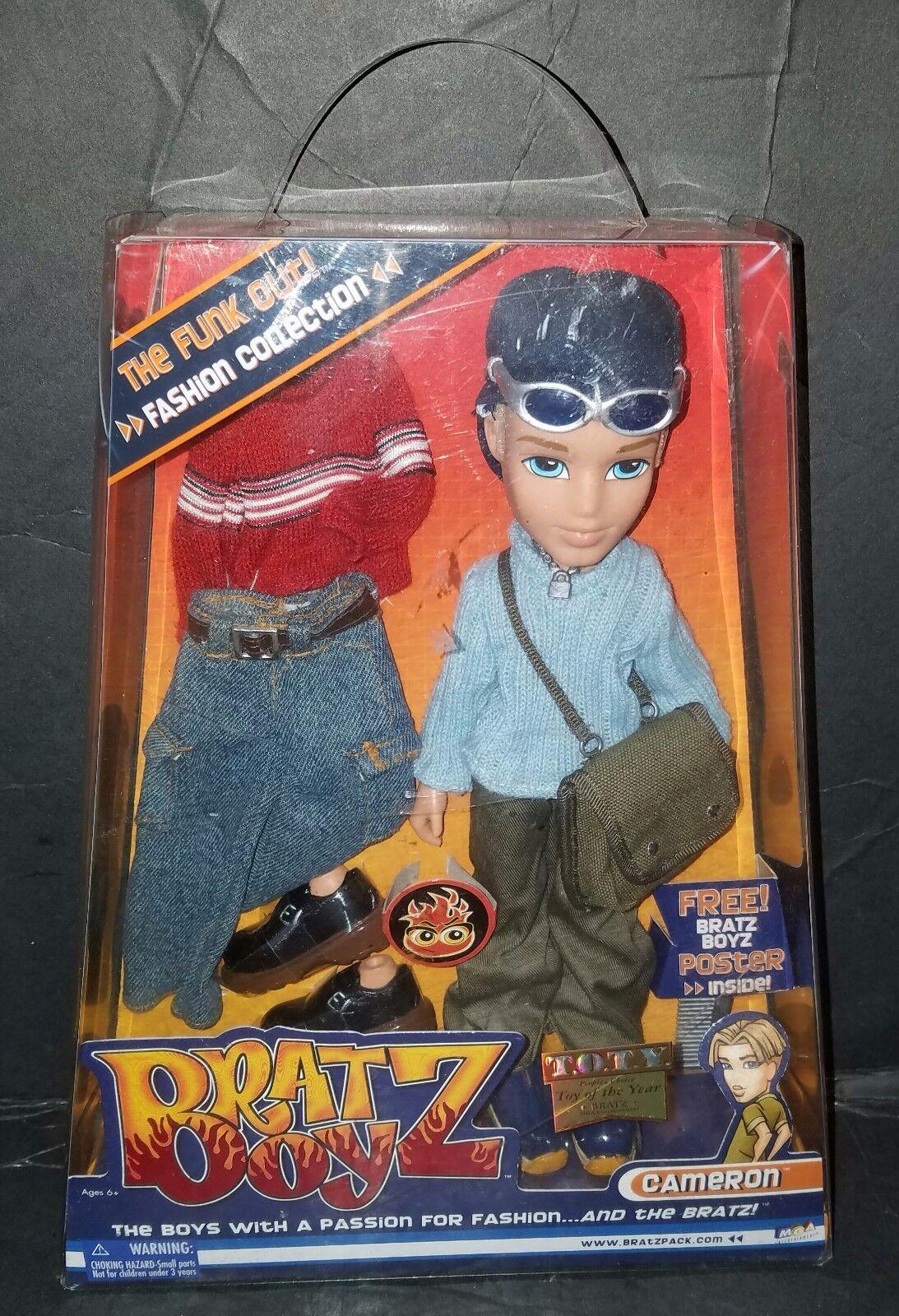 Bratz Boyz, The Funk Out   Cameron  Colección de Moda. 2004