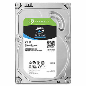 Image result for SEAGATE 2Tb 3.5 INT SKYHAWK ST2000VX008