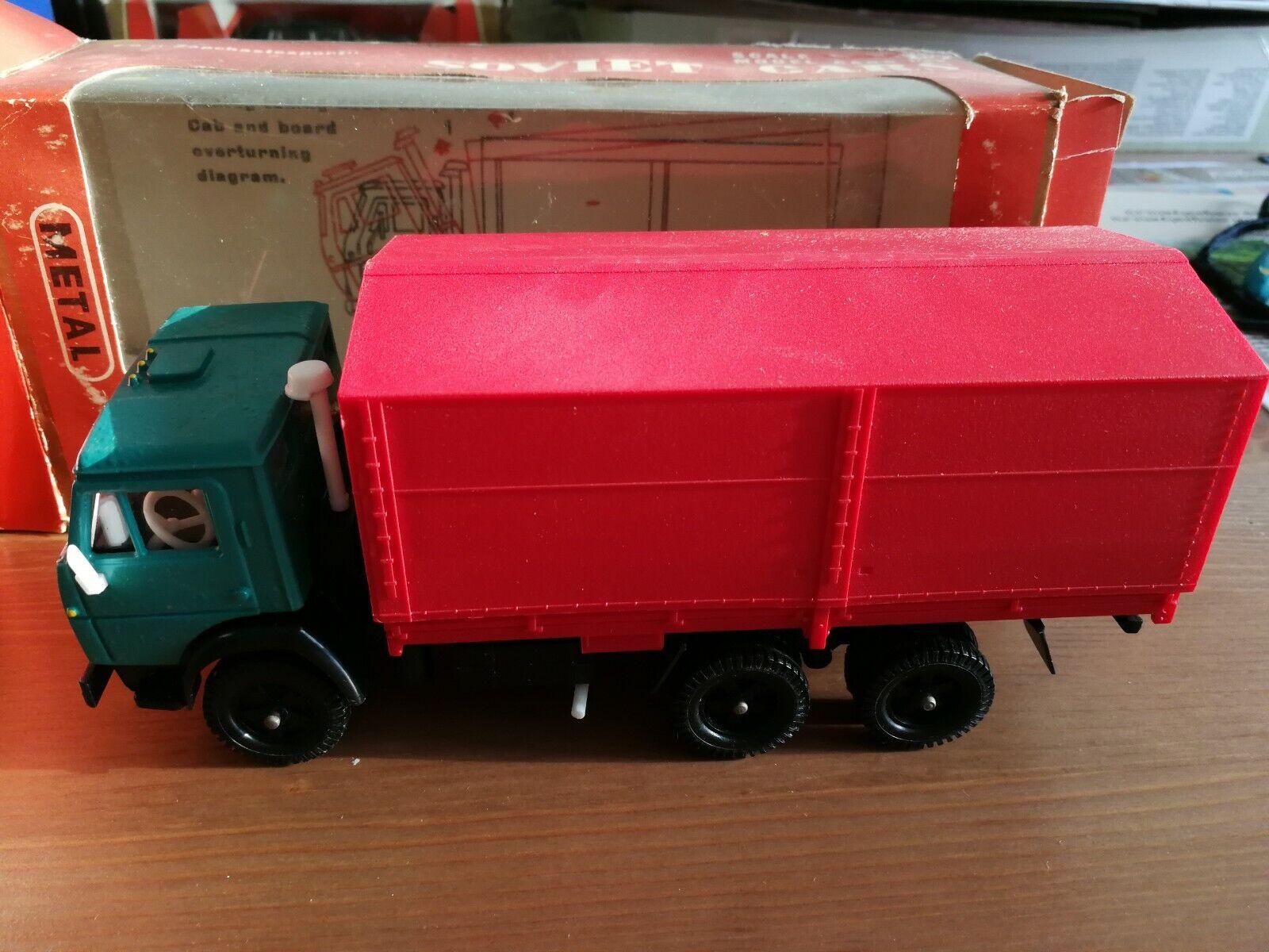 el mas de moda Kamaz - 5320 a bordo bordo bordo Rojo verde Con Toldo (Made in USSR) Envío Gratuito C419  El nuevo outlet de marcas online.