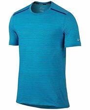 Nike Performance Tailwind Sports Shirt Omega Blue : Zv8218