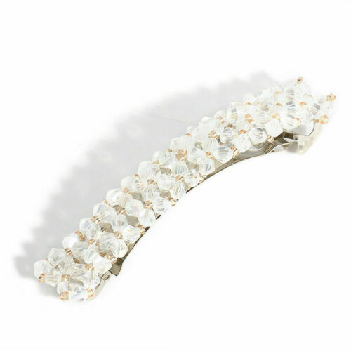 1 stücke Frauen Perle Haarspange Schnapp Barrette Stick Haarnadel Bobby Haarschm