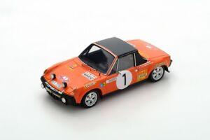Spark Modèle 1:43 S5583 Porsche 914/6 N ° 1 Rally Montecarlo 1971 Larrousse Nouveau