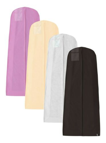 Hoesh UK Ivory Large Gusset Wedding Bridal Long Zip Gown Garment Dress Cover Bag