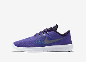 Nike Free RN Assorted Sizes NWB Dark Iris//Silver Girl/'s Running Shoes GS