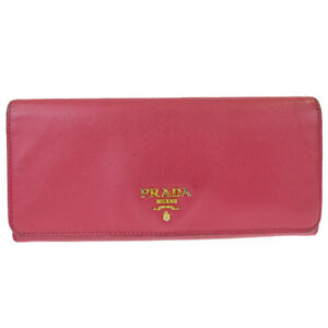 072af43e7415be Image is loading Authentic-PRADA-MILANO-Logos-Long-Bifold-Wallet-Purse-